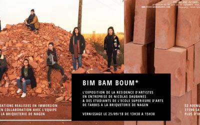 Le vernissage de «Bim, Bam, Boum!» à la Briqueterie de Nagen